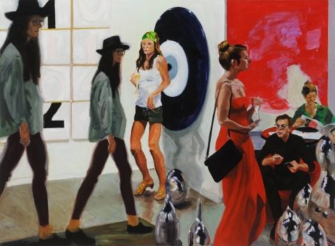 Art Fair Paintings at Victoria Miro